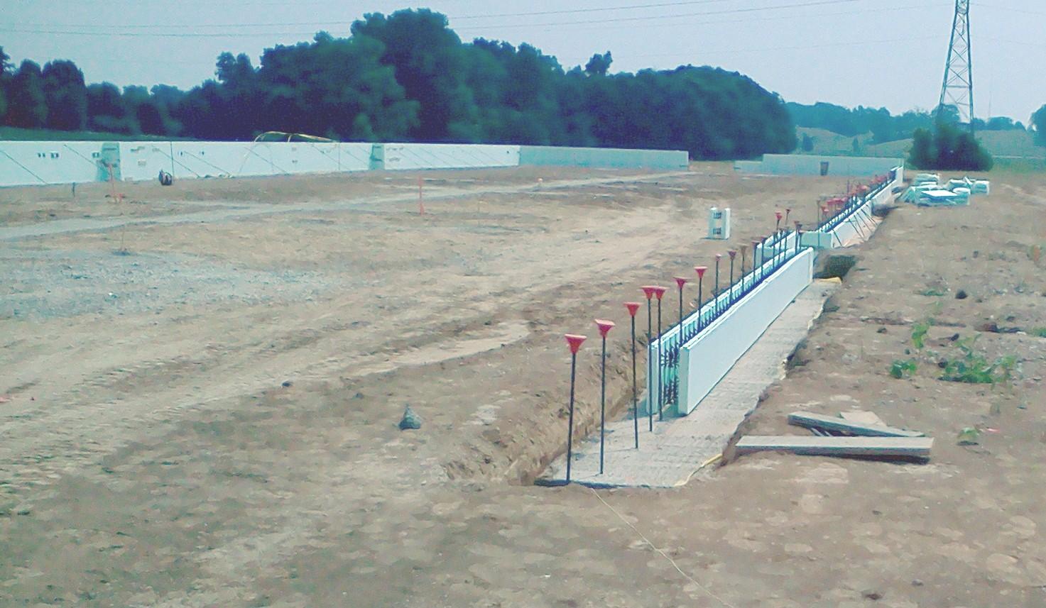 1st phase construction