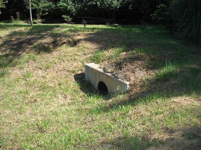 Stormwater outlet structures images for Stormwater pond design